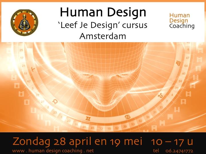 'Leef Je Design' cursus in Amsterdam 28/4 en 19/5
