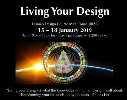 Living Your Design in Ibiza 15-18 January 2019