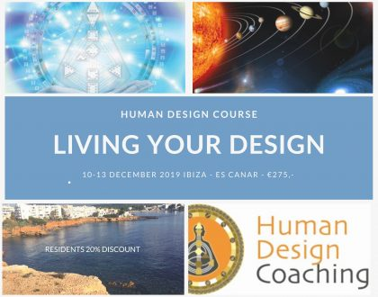 Living Your Design course in Ibiza 10-13 December 2019