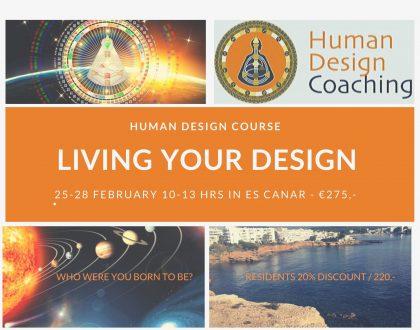 Living Your Design Cursus 25-28 februari - Ibiza